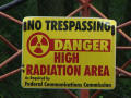 Sign: Danger  Radiation